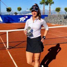 Finale di doppio per Nicole Fossa-Huergo ad Adalia