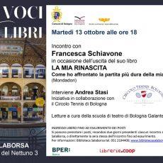 Incontro con Francesca Schiavone in Salaborsa